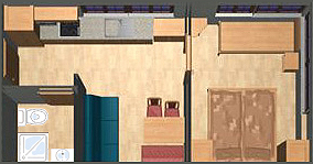Skizze Apartment 1